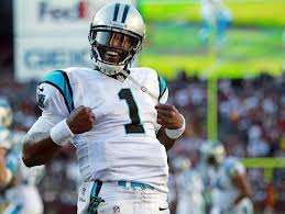 Panthers quarterback Cam Newton #12